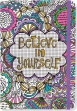 Believe in Yourself Coloring Journal