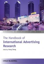 Cheng, Hong The Handbook of International Advertising Research