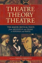 Theater/Theory/Theatre