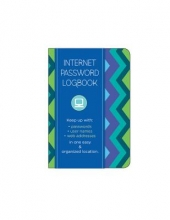 Internet Password Logbook - Pattern Edition