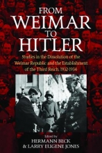 Larry Eugene Jones Hermann Beck, From Weimar to Hitler