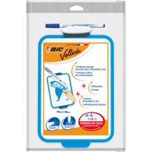 , Whiteboard Bic Velleda 19x26cm + stift + wisser