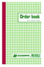 , Orderboek Exacompta 210x135mm 50x3vel lijn