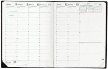 Pre 777 2018 Schreibtisch-Terminkalender Impala schwarz