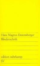 Enzensberger, Hans Magnus Blindenschrift