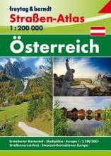 , Österreich, Straßen-Atlas 1:200.000