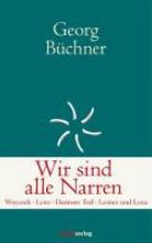 Büchner, Georg Werke der Freiheit