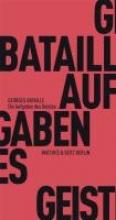 Bataille, Georges Die Aufgaben des Geistes