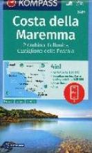 , Costa della Maremma, Piombino, Follonica, Castiglione della Pescaia 1:50 000