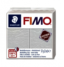, Klei Fimo leather-effect 57 g ivoor