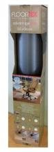, Stoelmat Floortex PVC 120x90cm voor zachte vloeren retailpak