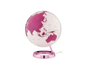 , Globe Bright HOT Pink 30cm diameter kunststof voet met      verlichting