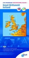 ANWB , Wegenkaart 1. Groot-Brittannië/Ierland