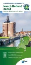 ANWB , Fietsknooppuntenkaart Noord-Holland noord 1:100.000