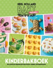 Anouk Glaudemans Diverse auteurs, Heel Holland bakt kinderbakboek seizoen 2