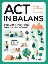 Els de Rooij Denise Matthijssen, ACT in balans