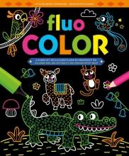 , Fluo Color kleurblok Fluo Color bloc de coloriage