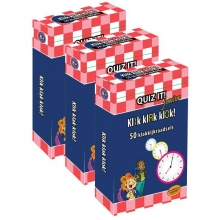 QUIZ IT junior - Klik klak klok, 3pack - QT833