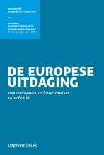 Jan Brinkhof , De Europese uitdaging voor rechtspraak, rechtswetenschap en onderwijs