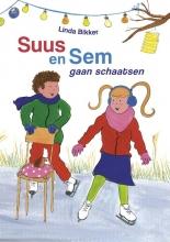 Linda Bikker , Suus en Sem gaan schaatsen