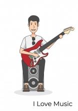 Allets Comfort , Gitaarakkoorden- Gitaartabs Notenschrift- Bladmuziek (A4) Man Guitar- Allets Comfort
