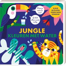 S. Studio ImageBooks , Kleuren met water - Jungle