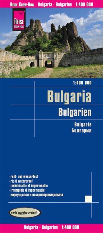 ,Reise Know-How Landkarte Bulgarien 1 : 400.000
