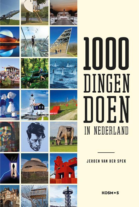 Jeroen van der Spek,1000 dingen doen in Nederland