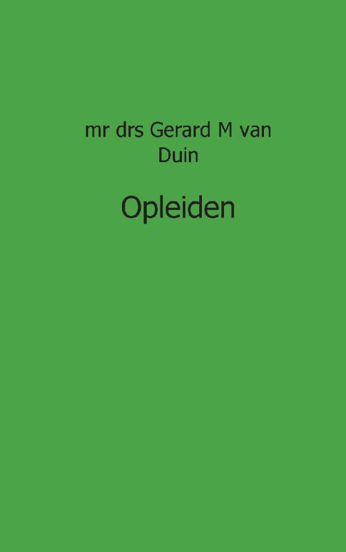 GM van Duin,opleiden