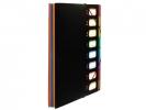,Sorteermap Viquel Rainbow Class ® A4 Zwart met 8 assorti    kleuren tabs