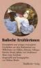 Badische Erzählerinnen,Emanzipierte und weniger emanzipierte Geschichten badischer Erzählerinnen. Ausgewählt und herausgeGeben von Helmut Bender.