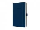 ,<b>notitieboek Sigel Conceptum Pure hardcover A5 donkerblauw   geruit</b>