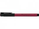 Fc-167427 ,Faber Castell Tekenstift Pitt Artist Pen Brush Pink Carmine 127