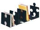 ,boekensteun HAN Puzzle set a 2 stuks zwart