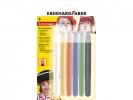 ,schminkstiften Eberhard Faber draaibaar set 6 kleuren op    blisterkaart