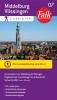 Falkplan BV ,Falk city map & more 07 Middelburg en Vlissingen 1e druk recente uitgave