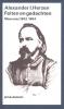 <b>Alexander I.  Herzen</b>,Feiten en gedachten 1852-1864