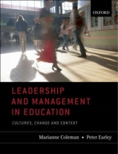 Coleman, Marianne Leadership and Management in Education
