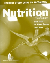 Paul Insel Study Guide - Nutrition 3e