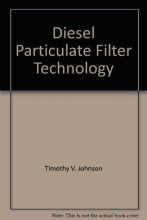 Timothy Johnson Diesel Particulate Filter Technology