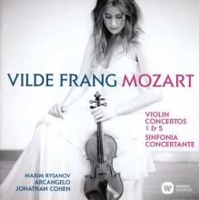Mozart - Violin Concertos 1 & 5 - Vilde Frang CD