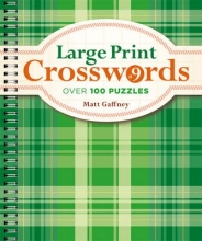 Gaffney, Matt Large Print Crosswords