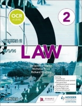 Martin, Jacqueline OCR A Level Law Book 2
