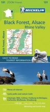 Michelin Black Forest, Alsace, Rhine Valley - Zoom Map 131