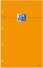 , Schrijfblok Oxford Everyday A4+ lijn 80vel geel