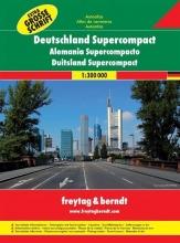 Duitsland Supercompact Wegenatlas F&B