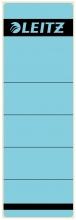 , Rugetiket Leitz breed/kort 62x192mm zelfklevend blauw