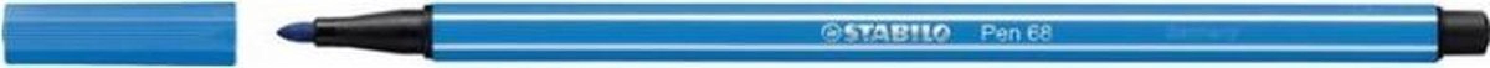 , Viltstift STABILO Pen 68/41 ultramarijn blauw