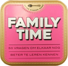 , After dinner games - Family time