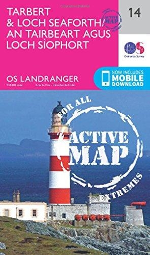 Ordnance Survey,Tarbert & Loch Seaforth